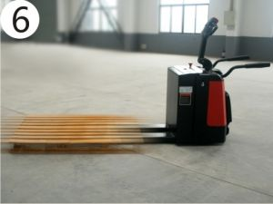 2t AC Pedal Electric Pallet Truck/Powerful Pallet Truck (Ept20-20ra) pictures & photos