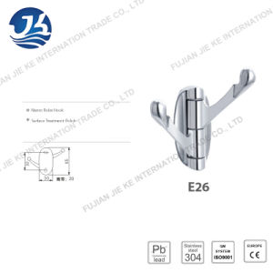 304 Stainless Steel Clothes Robe Hook (E26) pictures & photos