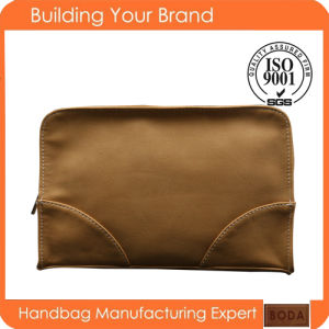 2015 Custom Toiletry Promotional PU Lady Cosmetic Bag pictures & photos