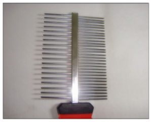 Pet Grooming Stainless Steel Hair Lice Comb pictures & photos