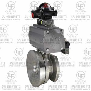 Pneumatic Tank Bottom Valve with Welding Flange pictures & photos