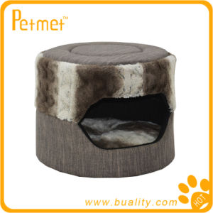 Convertible Cylinder Cat Bed with Removable Cushion (PT49180)
