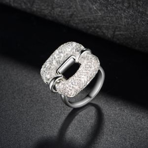 Fashion Mesh Crystal Creative Artificial Ring Jewelry pictures & photos