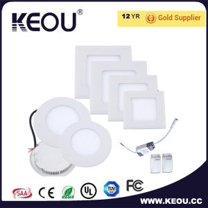 Cool White 6000k Round/Square LED Panel 18W 8inch Downlight pictures & photos