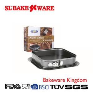 Square Springform Carbon Steel Nonstick Bakeware (SL BAKEWARE) pictures & photos