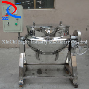 Electrical Heatting Jacketed Kettle with Tilting