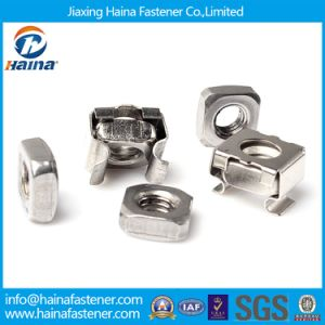 High Strength Stainless Steel Square Cage Nut (M3~M24) pictures & photos