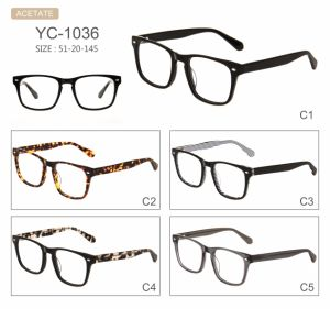 Fashion Hot Selling New Design Acetate Optical Frames pictures & photos