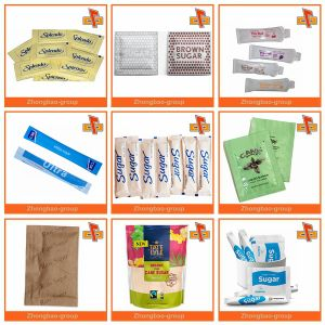 Single Side PE Coated Salt Sachet Packaging Paper pictures & photos