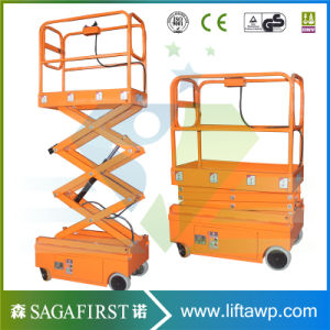 Mini Scissor Lift Platform for Sale 200kgs 300kgs Scissor Lift Platform Price, High Quality Scissor Lift pictures & photos