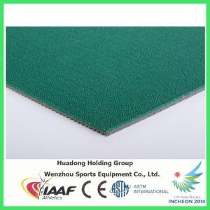 Iaaf Professional Badminton Court Rubber Floor Mat pictures & photos