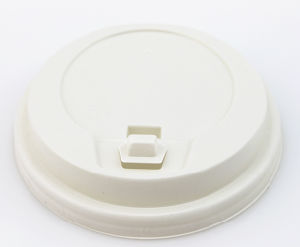 Wholesale Plastic and Paper Cup with coffee Lid pictures & photos