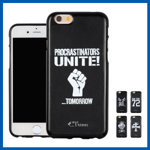 Black TPU Leather Hybrid High Quality Case for iPhone 6s pictures & photos