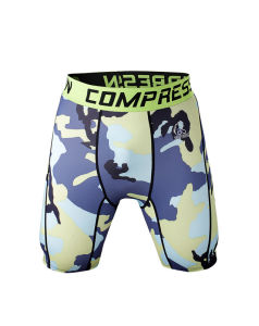 Compression Trousers Fitness Exercise Training Clothing Shorts for Men (JSDK-2015004) pictures & photos
