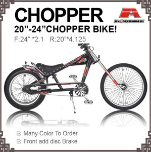 New Disc Brake Chopper Bicycle (AOS-2024S-9) pictures & photos