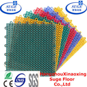 Multi-Purpose PP Modular Plastic Suspended Interlocking Tennis Court Flooring pictures & photos
