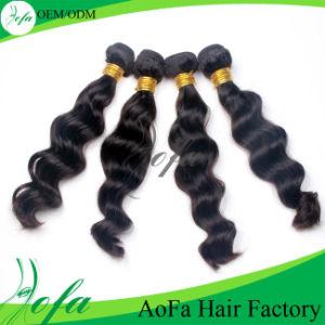 Very Popular Wavy Cheap 100% Brazilian Virgin Human Hair Extension pictures & photos