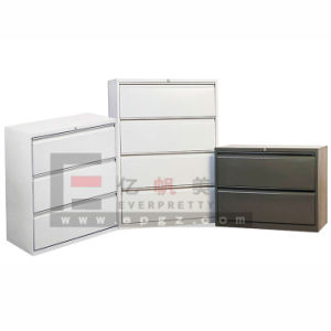 Lateral Filling Cabinet, 2/3/4drawer Steel Filing Cabinet (DG-29) pictures & photos