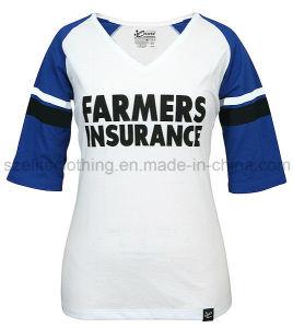 Short Sleeve V-Neck Bamboo T-Shirt (ELTWTJ-291) pictures & photos