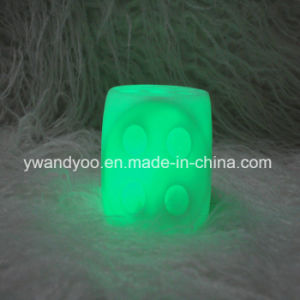 Luxury Flameless Green LED Candle pictures & photos