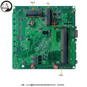 Motherboard with J1900 CPU, 4LAN, Only 12-12cm pictures & photos