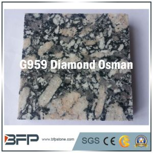 China New Diamond Osman Stone Granite Floor Tiles, Stairs pictures & photos