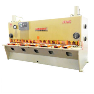 Shanghai Bohai Brand QC11k 10 X 3200 Steel Plate Guillotine Shear, Hydraulic Shear pictures & photos