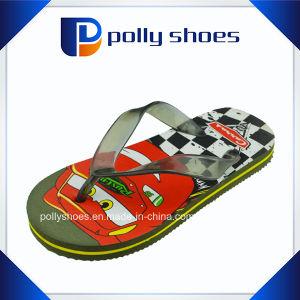 Wholesale Cartoon Boy PE Flip Flop Baby Slipper pictures & photos