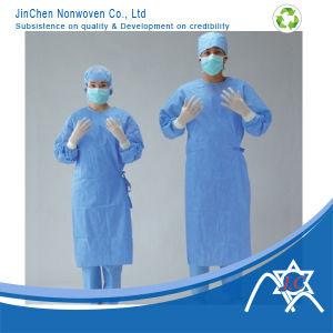 SMS Nonwoven Fabric for Surgical Gowns 201 pictures & photos