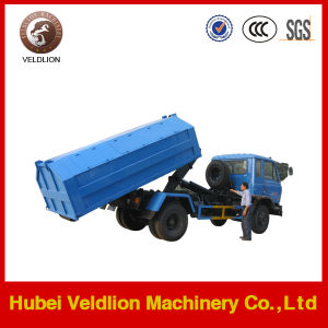 Dongfeng 4X2 8ton/8cbm/8m3 Hook Lift Garbage Truck for Sale pictures & photos