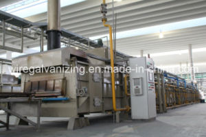 Open Fired Steel Wire in-Line Annealing Furnace pictures & photos