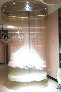 Decoration Clear Crystal Ceiling Light Hotel Lighting (Ka236) pictures & photos
