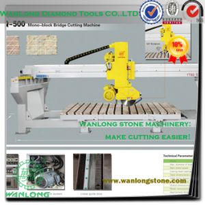 Ytqq-500 Wanlong Bridge Laser Cutting Machine Granite Slab Processing Cutter pictures & photos