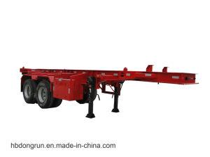 Hubei Dongrun 2 Axle 20FT Container Skeleton Trailer
