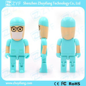 Multi Color Hospital Dentist Doctor 8GB USB Pen Drive with Logo (ZYF1840) pictures & photos
