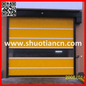 High Speed PVC Automatic Roller Shutter Door (ST-001) pictures & photos