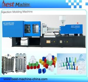 230 Ton Energy Saving Servo System 24 Cavities Cap Injection Moulding Machine pictures & photos