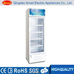 980L Three Doors Commercial Supermarket Beverage Showcase pictures & photos