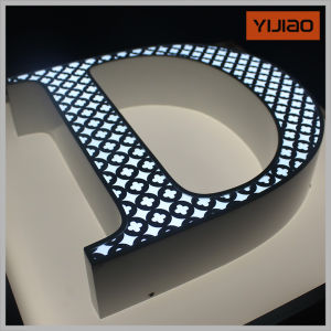 advertising letters led edge lit
