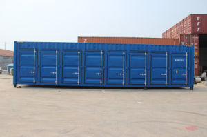 Brand New 40′ Open Side Container Shipping for Sale pictures & photos