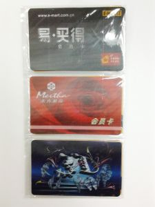 Custom Printing High Quality 3D Lenticular VIP Card pictures & photos