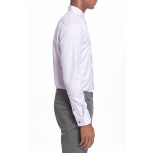 Long Pointed Collar Non-Iron Easy Care Tailor Made Men Shirt pictures & photos