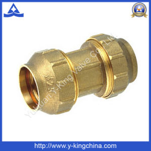 High Quality Brass Spanish /Compression Pipe Fitting (YD-6043) pictures & photos