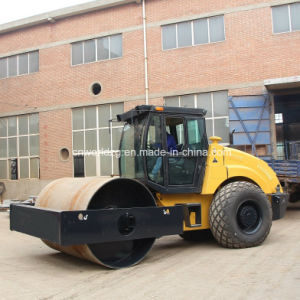 Single Drum Roller 14 Ton Weight with A/C Cabin pictures & photos