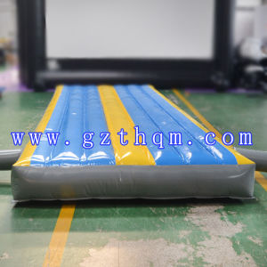 Indoor Inflatable Air Track Cushion Guide Gymnastic Exercise 0.55mm PVC pictures & photos