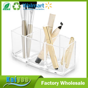 Multi-Purpose 3 Compartment Acrylic Makeup and Jewelry Organizer pictures & photos