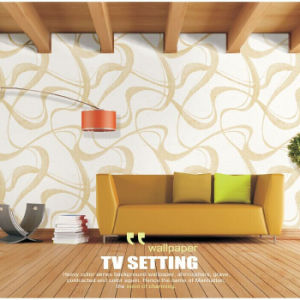 Waterproof PVC Vinyl Wall Covering for Walls pictures & photos
