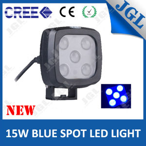 Safety Blue LED Spotlight 15W Auto LED Lamp 12V
