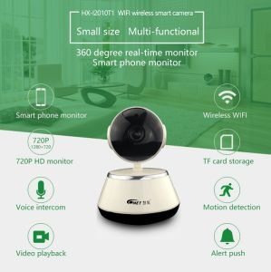 Two Way Voice Intercom Wireless IP Video Surveillance Camera with 64GB TF Card pictures & photos