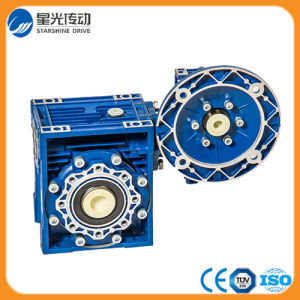 Small Size Nmrv Wom Gearbox with Flange pictures & photos